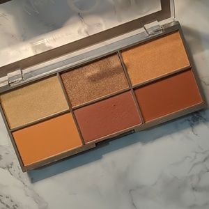 Elf modern metals blush palette